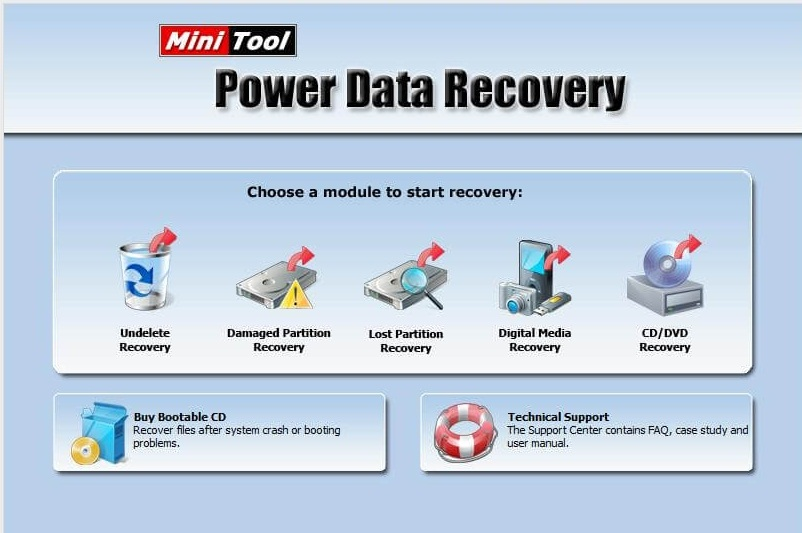 MiniTool Power Data Recovery Crack Free Download