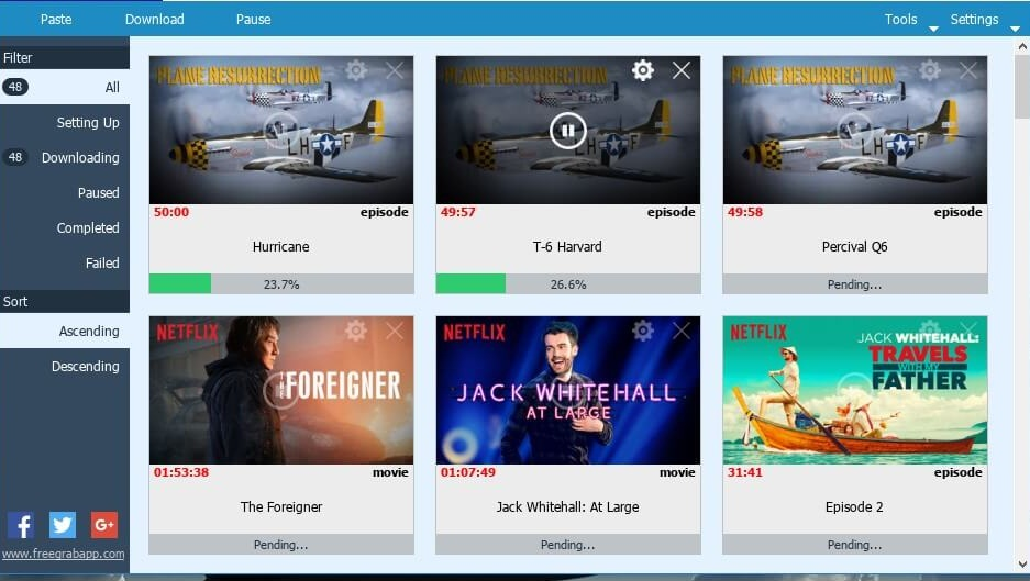 FlixGrab+ Premium 1.6.9.777 Crack Free Download
