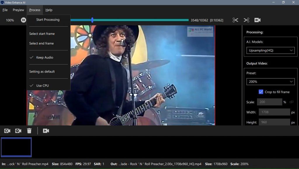 Topaz Video Enhance AI 1.2.3 Crack Free Download