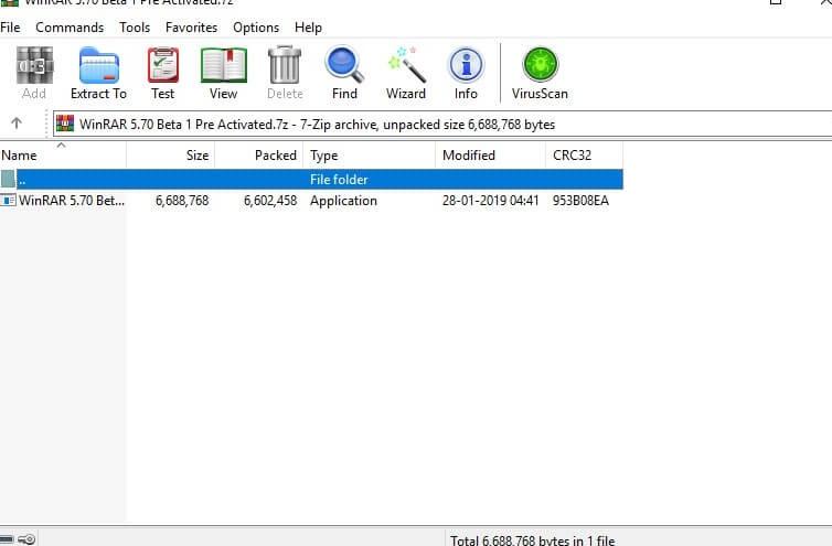 WinRAR 5.70 Beta 2 Crack Free Download