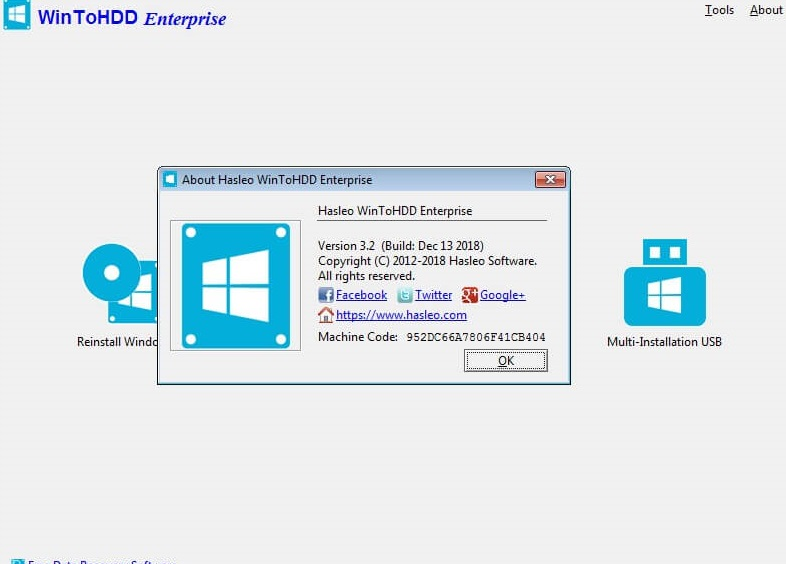 WinToHDD Enterprise 3.8 Crack Free Download