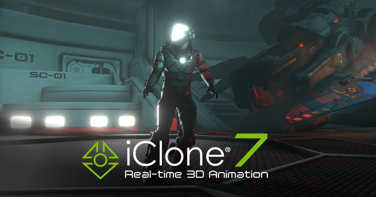 Reallusion IClone Pro 7.8.4322.1 Full Version Download