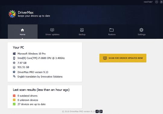 DriverMax Pro 12.11.0.6 Crack Free Download