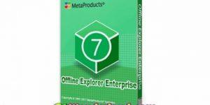 Offline Explorer Enterprise 7.8.4660 Crack Free Download