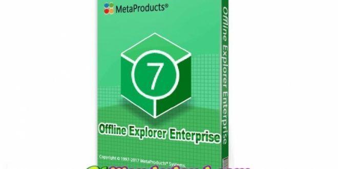 Offline Explorer Enterprise 7.8.4660 Full Crack Free Download