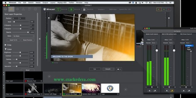 Wirecast Pro 14.0.0 Crack Full Version Free Download