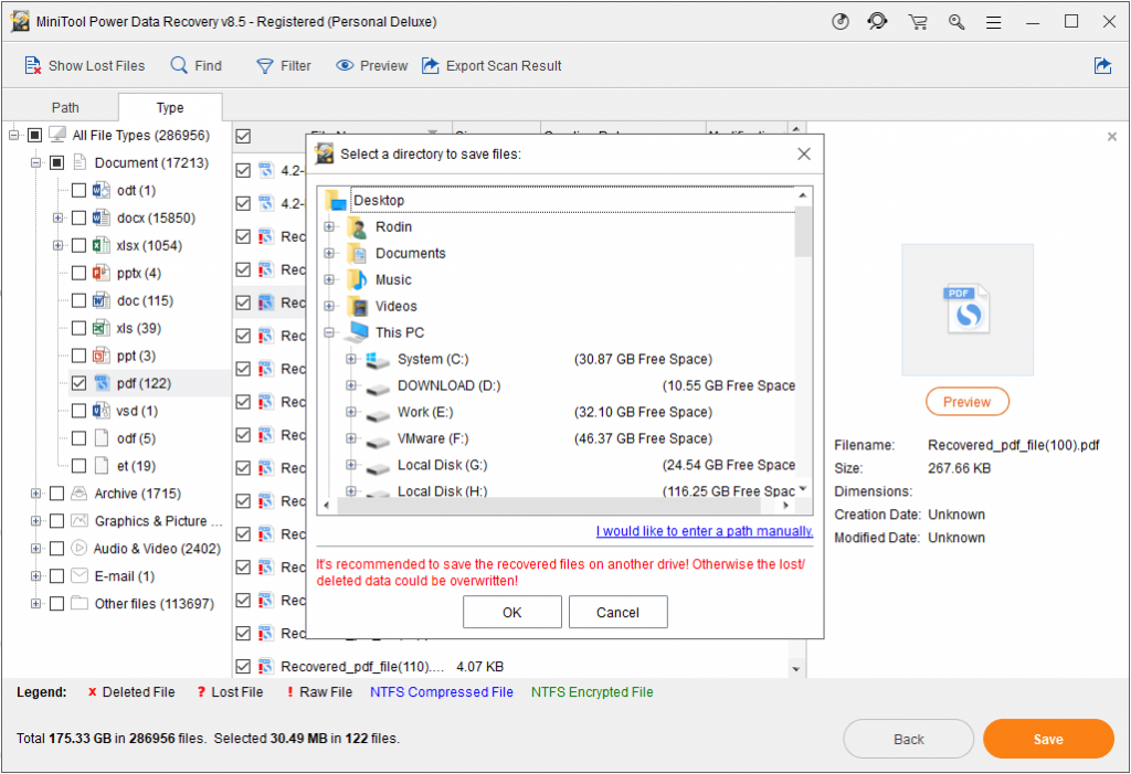 MiniTool Power Data Recovery 9.0 Crack + Keygen Free Download