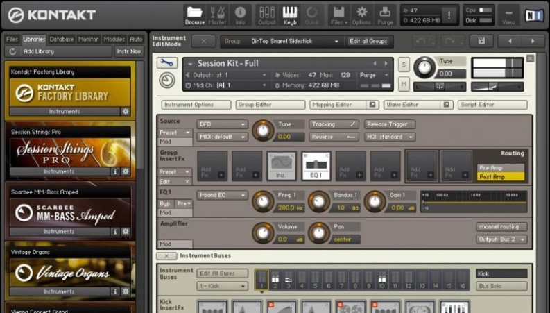 Native Instruments Kontakt 6.4.1 Full Version Crack Free Download