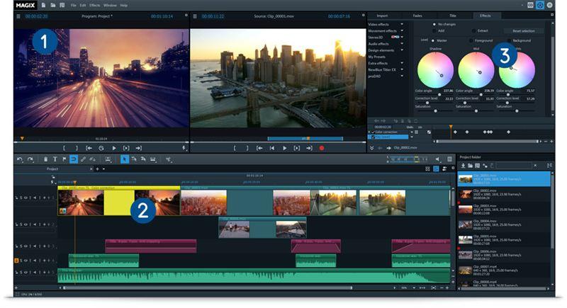 MAGIX Video Pro X12 v18.0.1.89 Crack + Latest Version Download