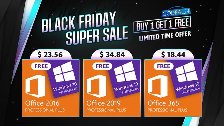 Windows 10 Black Friday Super Sale