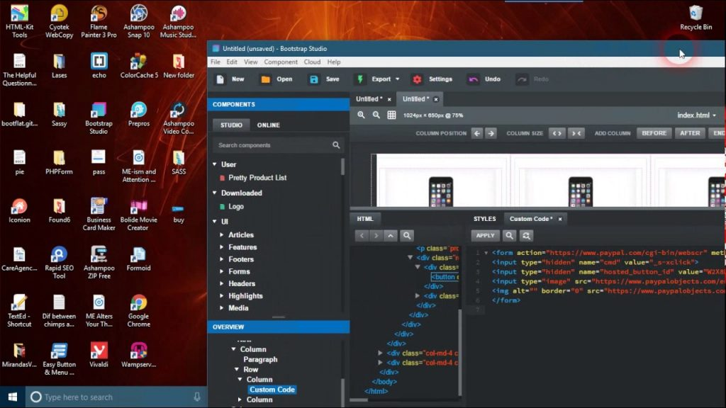 Bootstrap Studio 5.4.3 Crack + Keygen Free Download