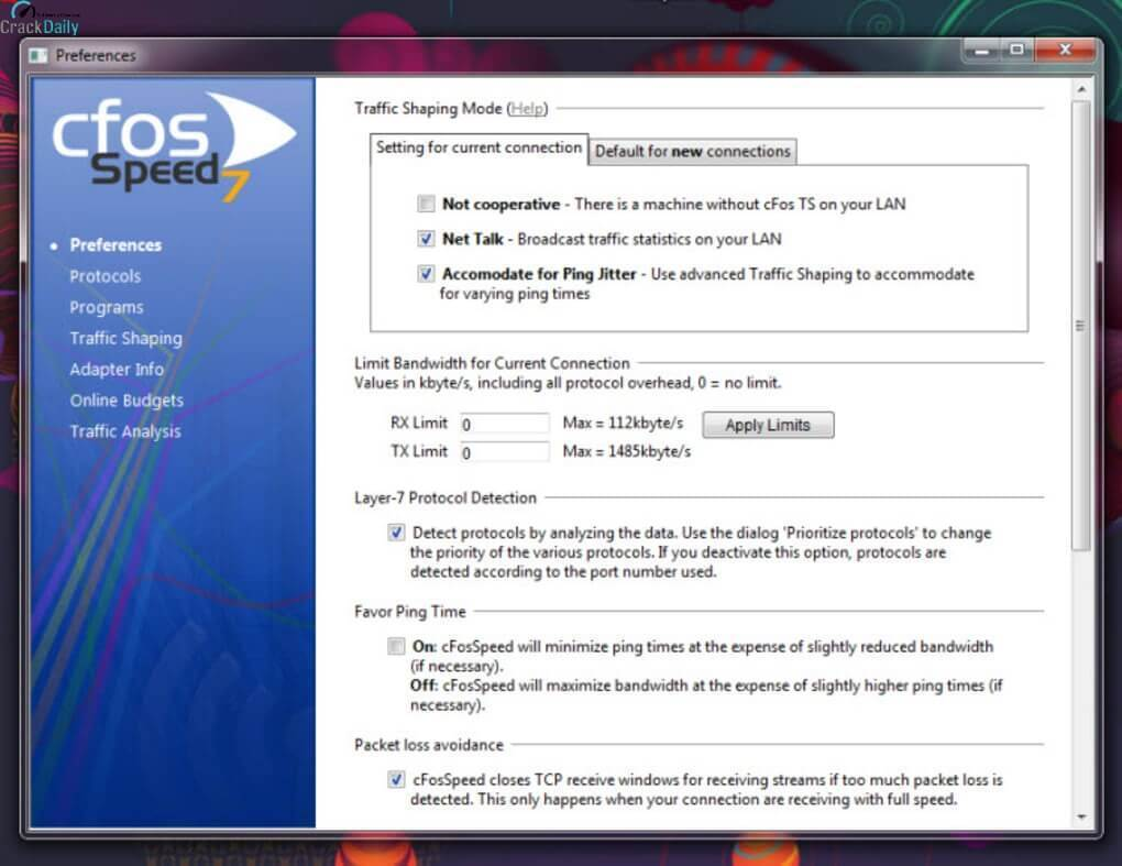 CFosSpeed 11.06 Build 2462 Crack With Patch Download