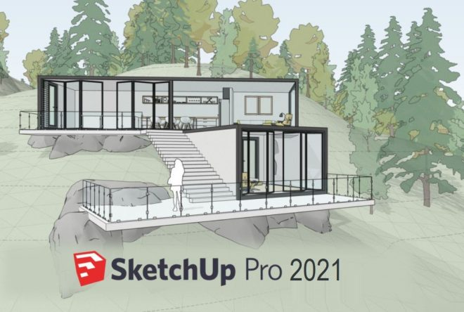 Google SketchUp Pro 2021 v21.0.339 Crack + Setup Free Download