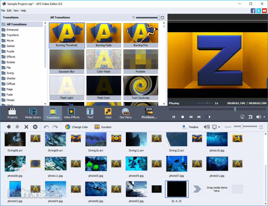 AVS Video Editor 9.4.5 Crack and Key